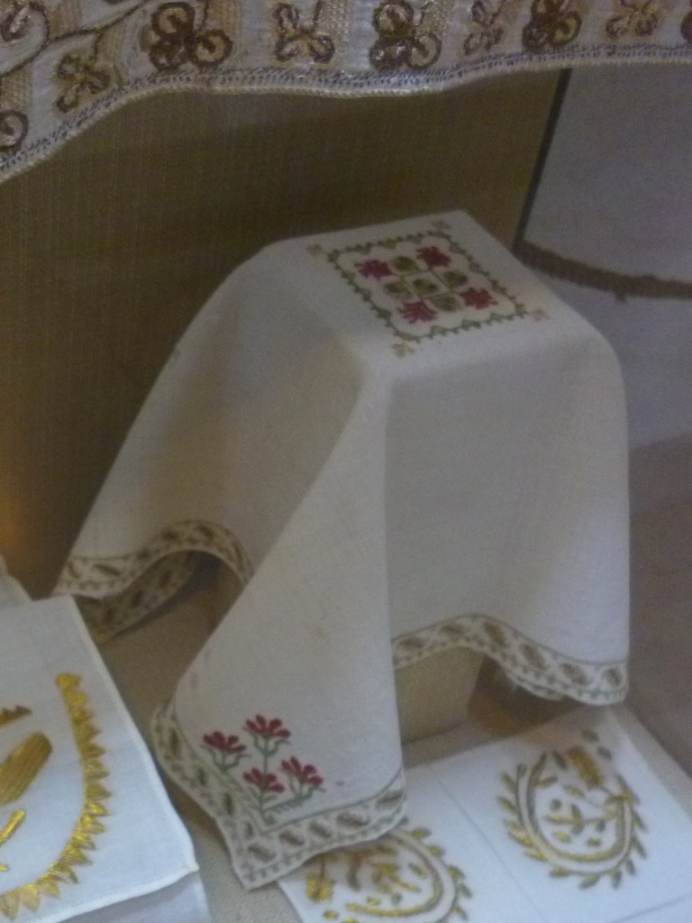 Маленькая скатерть. Музей францисканского монастыря в Фойнице. Фото: Елена Арсениевич, CC BY-SA 3.0