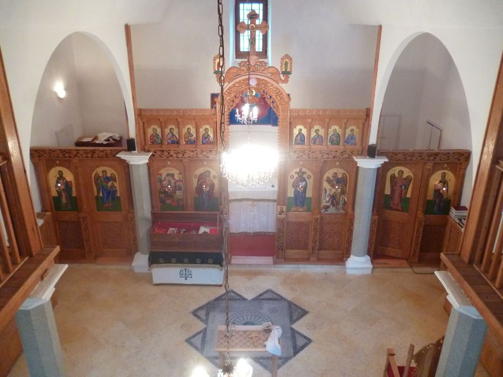 Интерьер старой православной церкви в Мостаре. Фото: Елена Арсениевич, CC BY-SA 3.0