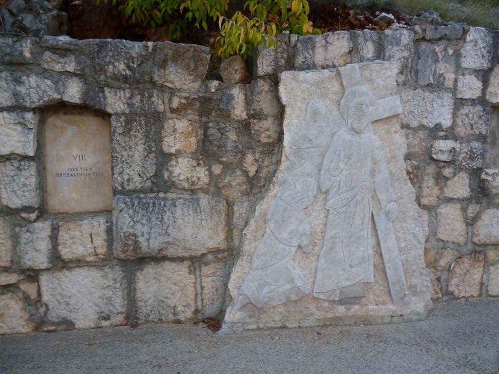Стояние 8. Иисус встречает плачущих женщин. Фото: Елена Арсениевич, CC BY-SA 3.0