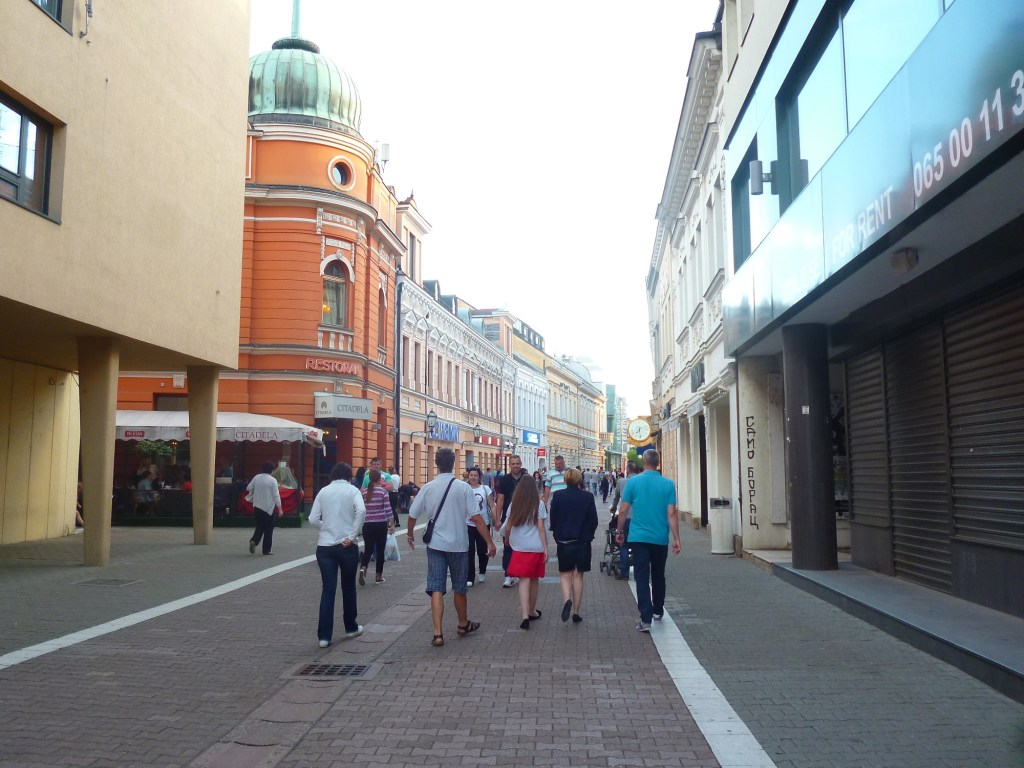 Господская улица в Баня Луке. Фото: Елена Арсениевич, CC BY-SA 3.0