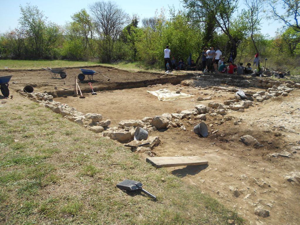 Новый раскоп в Бигесте. Фото: Елена Арсениевич, CC BY-SA 3.0