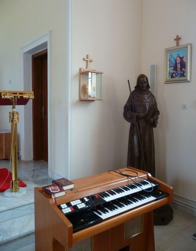 Статуя св. Якова Маркийского в церкви в Дежевице. Фото: Елена Арсениевич, CC BY-SA 3.0