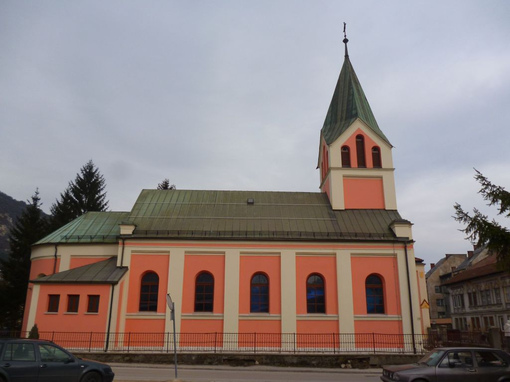 Церковь в Травнике, проект Йосипа Ванцаша. Фото: Елена Арсениевич, CC BY-SA 3.0