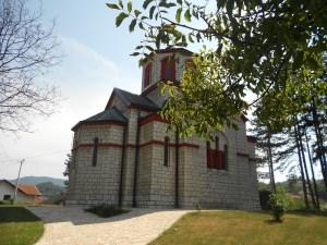 Православная церковь в Тешане. Фото: Елена Арсениевич, CC BY-SA 3.0