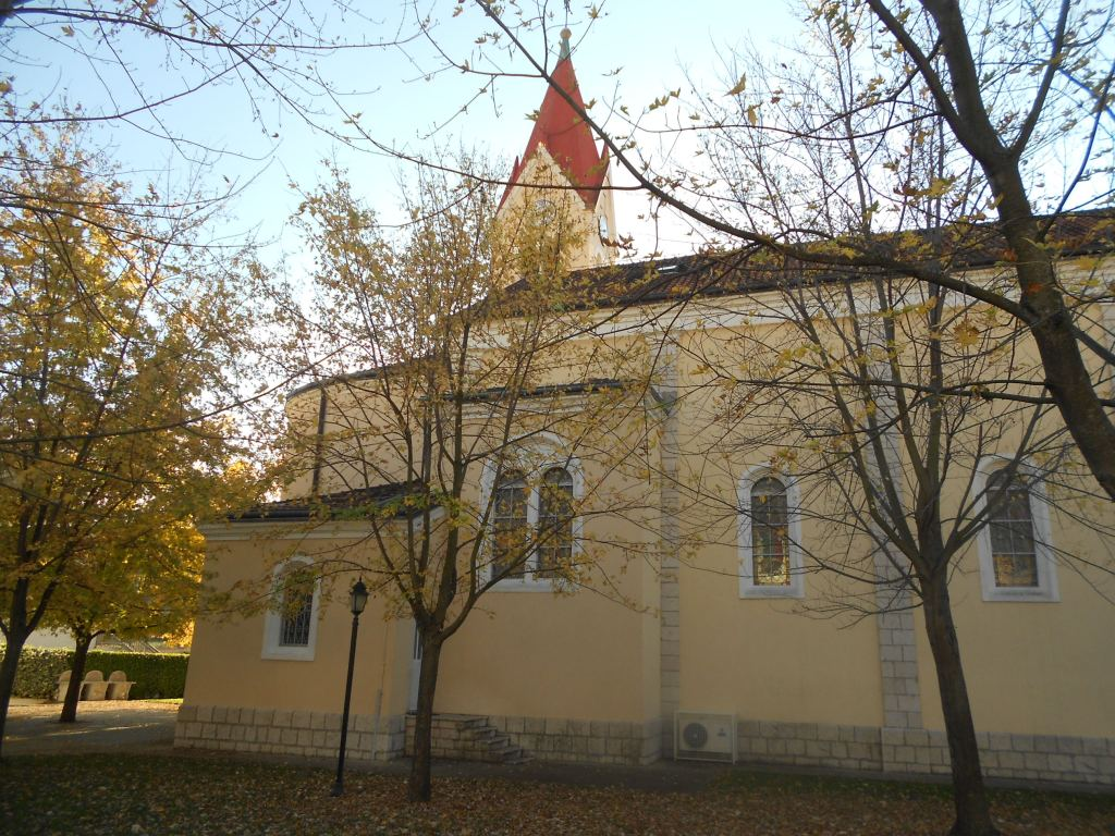 Католическая церковь в Столаце. Фото: Елена Арсениевич, CC BY-SA 3.0
