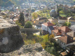 Вид с крепости на город. Фото: Елена Арсениевич, CC BY-SA 3.0