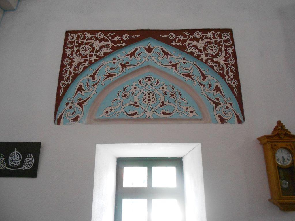 Орнаментальная роспись мечети. Фото: Елена Арсениевич, CC BY-SA 3.0