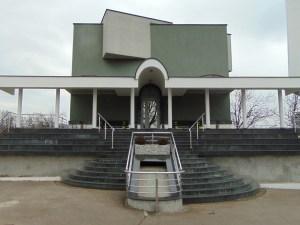 Мечеть в Шпионице. Главный фасад. Фото: Елена Арсениевич, CC BY-SA 3.0