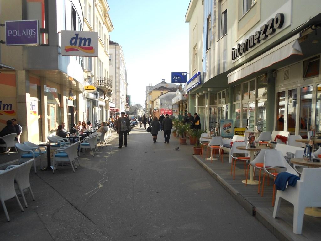 Самая шумная часть Феичевой. Фото: Елена Арсениевич, CC BY-SA 3.0