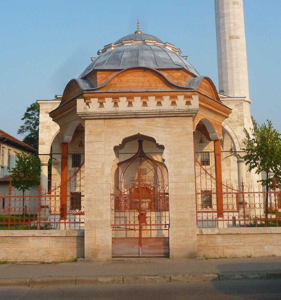 Мечеть Ферхадия, вход. Фото: Елена Арсениевич, CC BY-SA 3.0