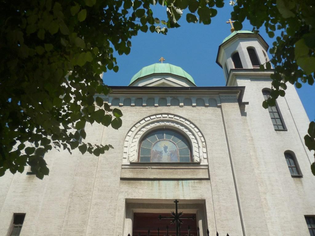 Западный фасад церкви. Фото: Елена Арсениевич, CC BY-SA 3.0