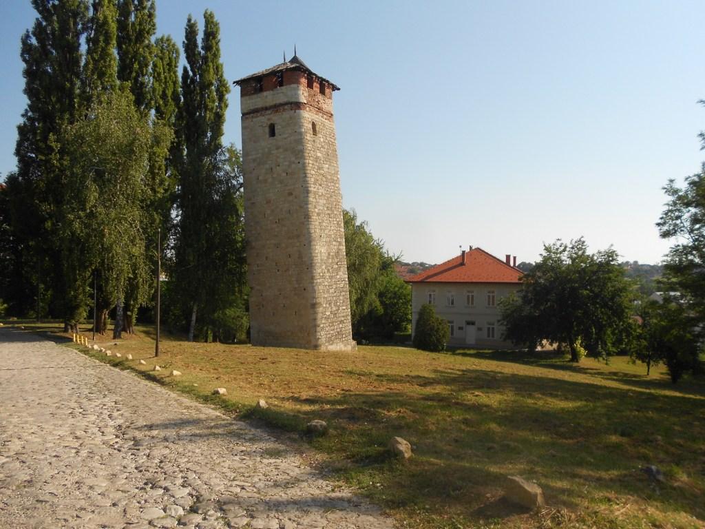 Падающая башня в Градачаце. Фото: Елена Арсениевич, CC BY-SA 3.0