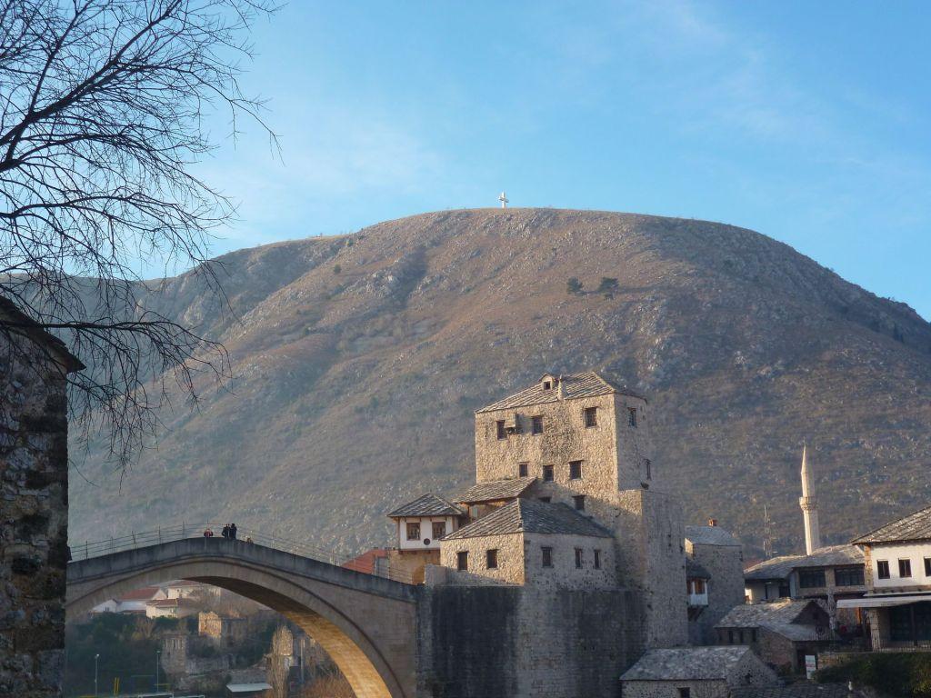 Башня Халебия и Старый мост. Фото: Елена Арсениевич, CC BY-SA 3.0