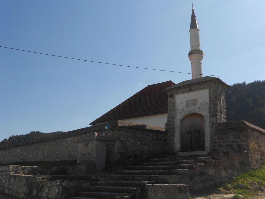 Мечеть Хандания в Прусаце. Фото: Елена Арсениевич, CC BY-SA 3.0