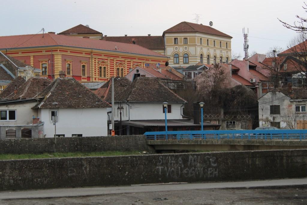 Вид на отель от реки Брки. Фото: Елена Арсениевич, CC BY-SA 3.0