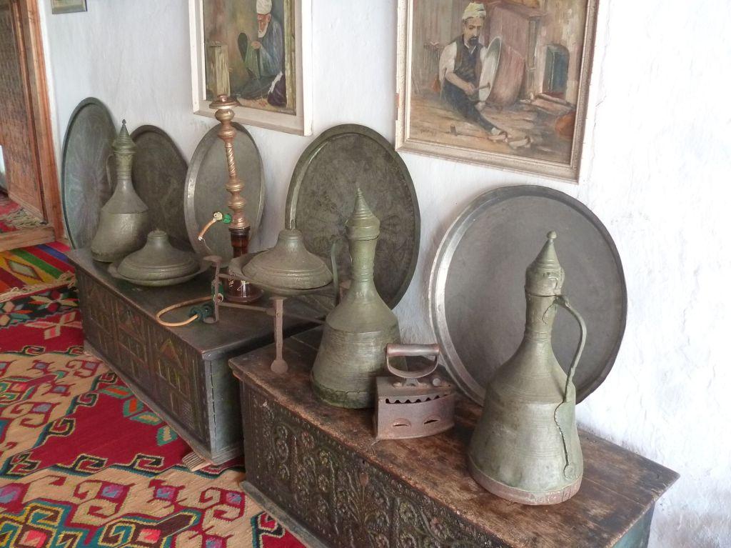 Джугумы в доме Бишчевича в Мостаре. Фото: Елена Арсениевич, CC BY-SA 3.0