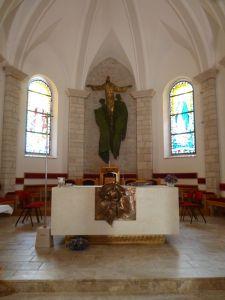 Алтарная часть церкви. Фото: Елена Арсениевич, CC BY-SA 3.0