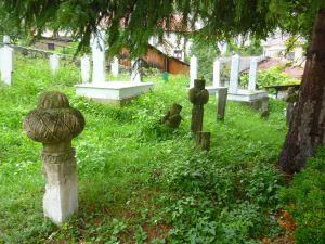 Старинные надгробия. Фото: Елена Арсениевич, CC BY-SA 3.0