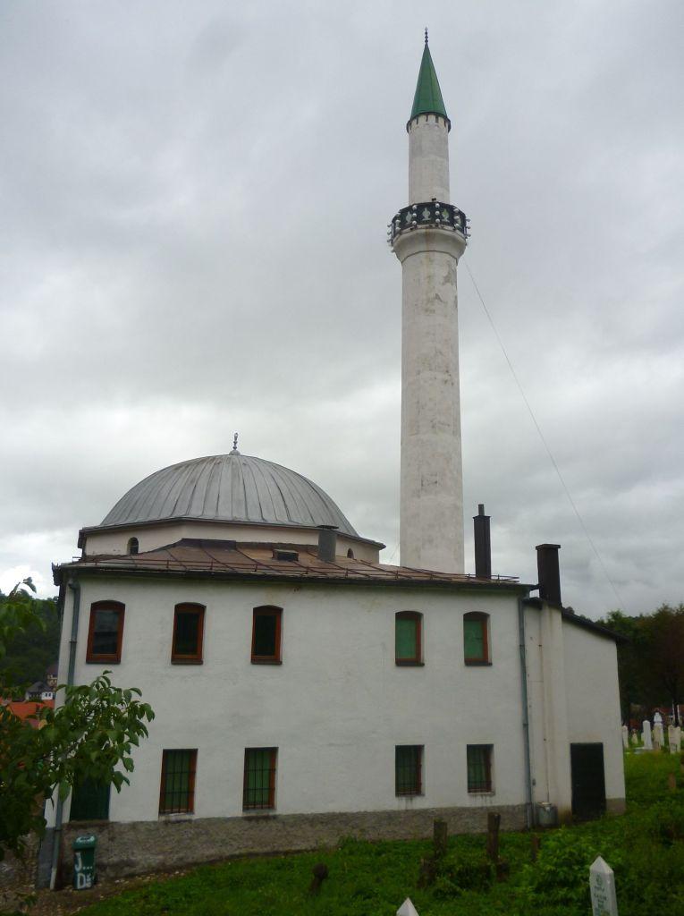 Мечеть Ени с пристроенной к ней текией. Фото: Елена Арсениевич, CC BY-SA 3.0