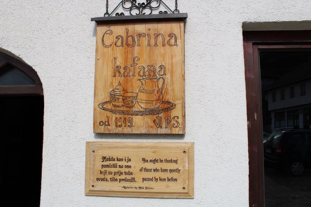 Чабрина кафана работает с 1919 года. Фото: Елена Арсениевич, CC BY-SA 3.0