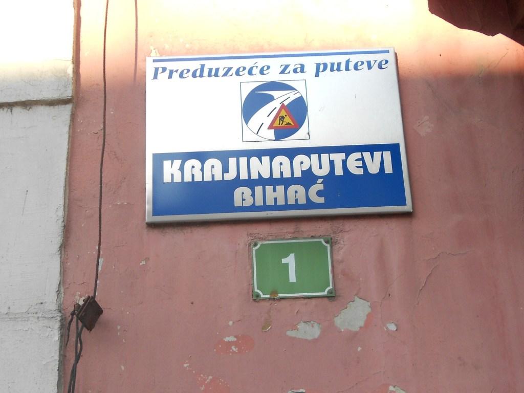 Устаревшая табличка. Фото: Елена Арсениевич, CC BY-SA 3.0
