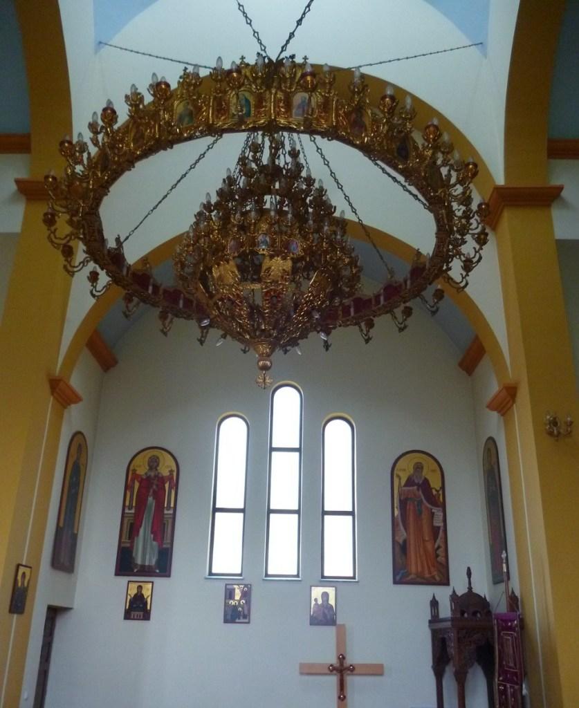 Интерьер храма. Фото: Елена Арсениевич, CC BY-SA 3.0
