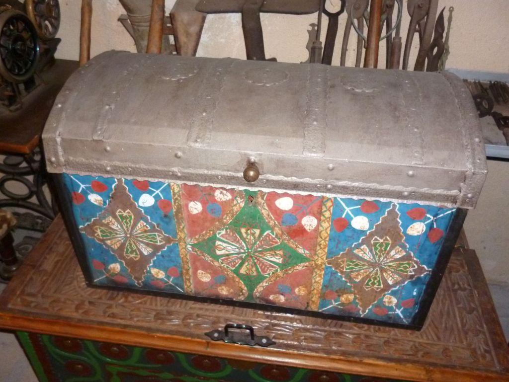 Старинный сундук. Их в музее целая коллекция. Фото: Елена Арсениевич, CC BY-SA 3.0