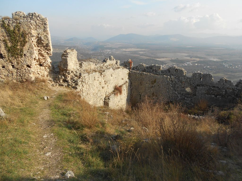 Южная часть крепости. Фото: Елена Арсениевич, CC BY-SA 3.0