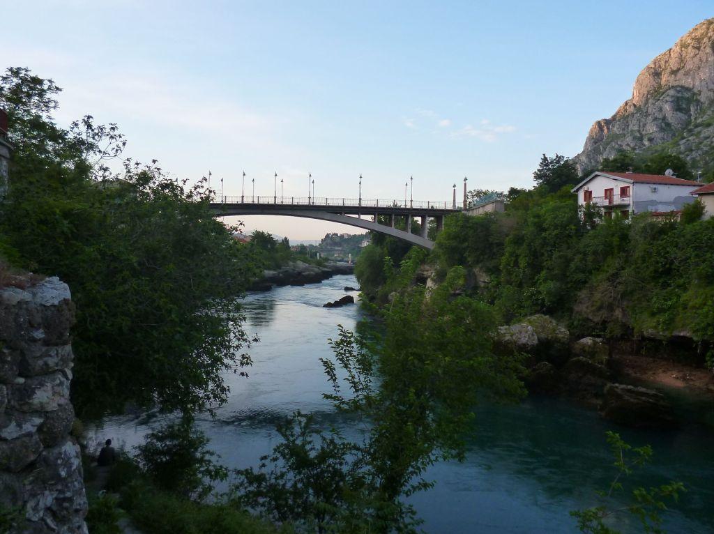 Лучский мост на рассвете. Фото: Елена Арсениевич, CC BY-SA 3.0