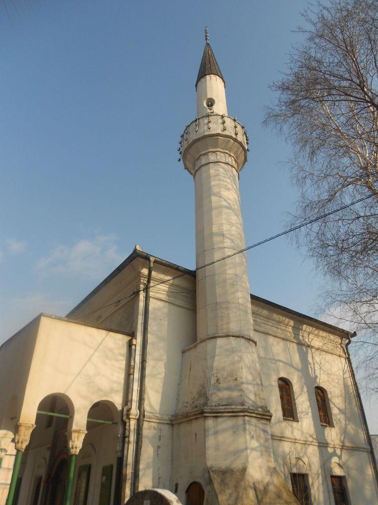 Минарет Лукачской мечети. Фото: Елена Арсениевич, CC BY-SA 3.0