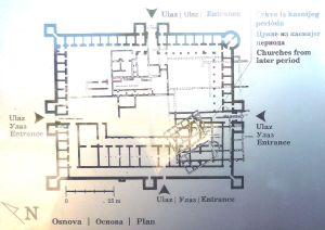 План усадьбы. Фото: Елена Арсениевич, CC BY-SA 3.0