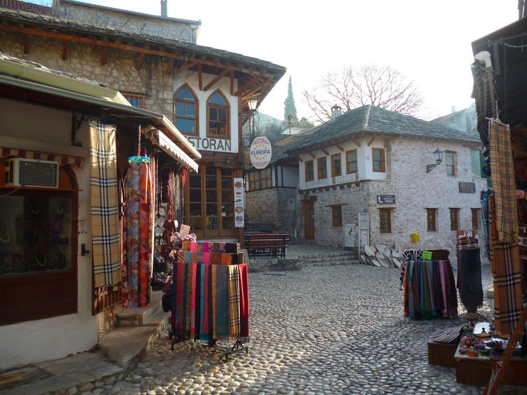 Чаршия в Мостаре. Фото: Елена Арсениевич, CC BY-SA 3.0