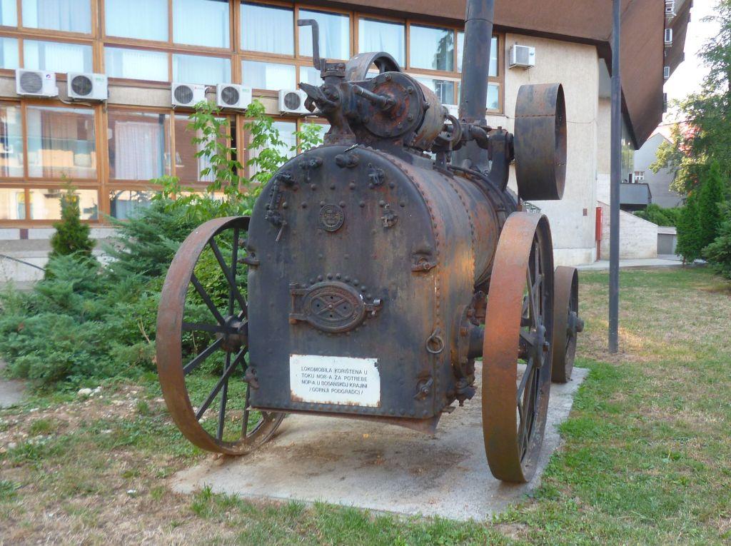 Локомотив времён первой мировой войны. Фото: Елена Арсениевич, CC BY-SA 3.0