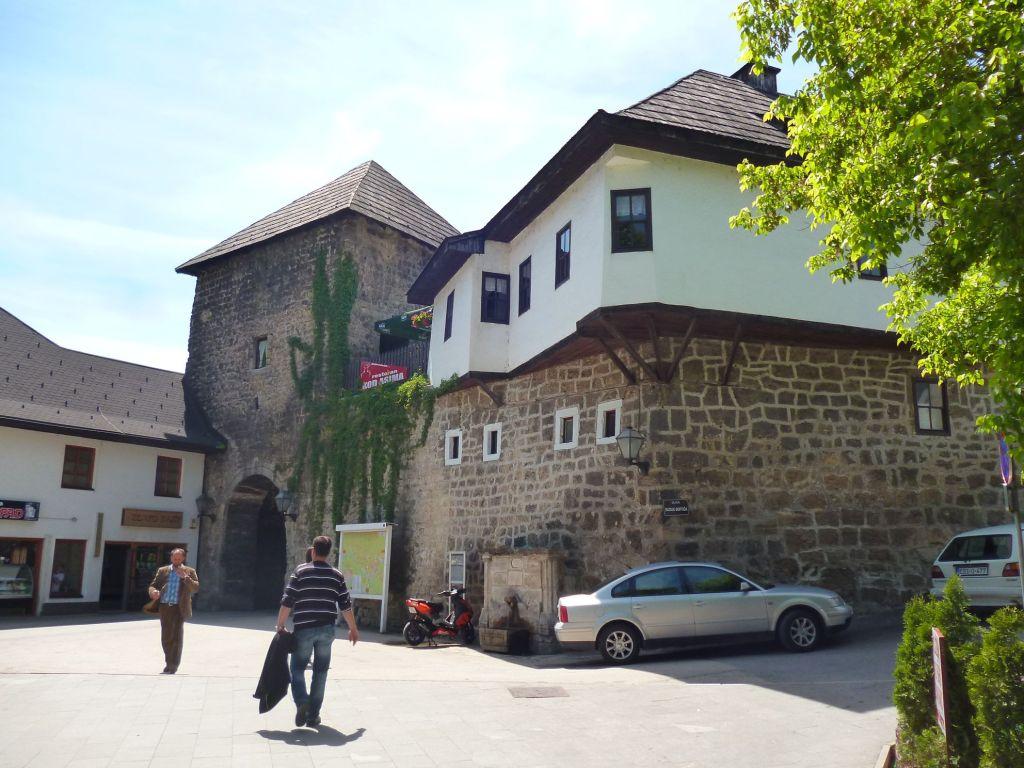 Дом Омербега и Травничские ворота. Фото: Елена Арсениевич, CC BY-SA 3.0