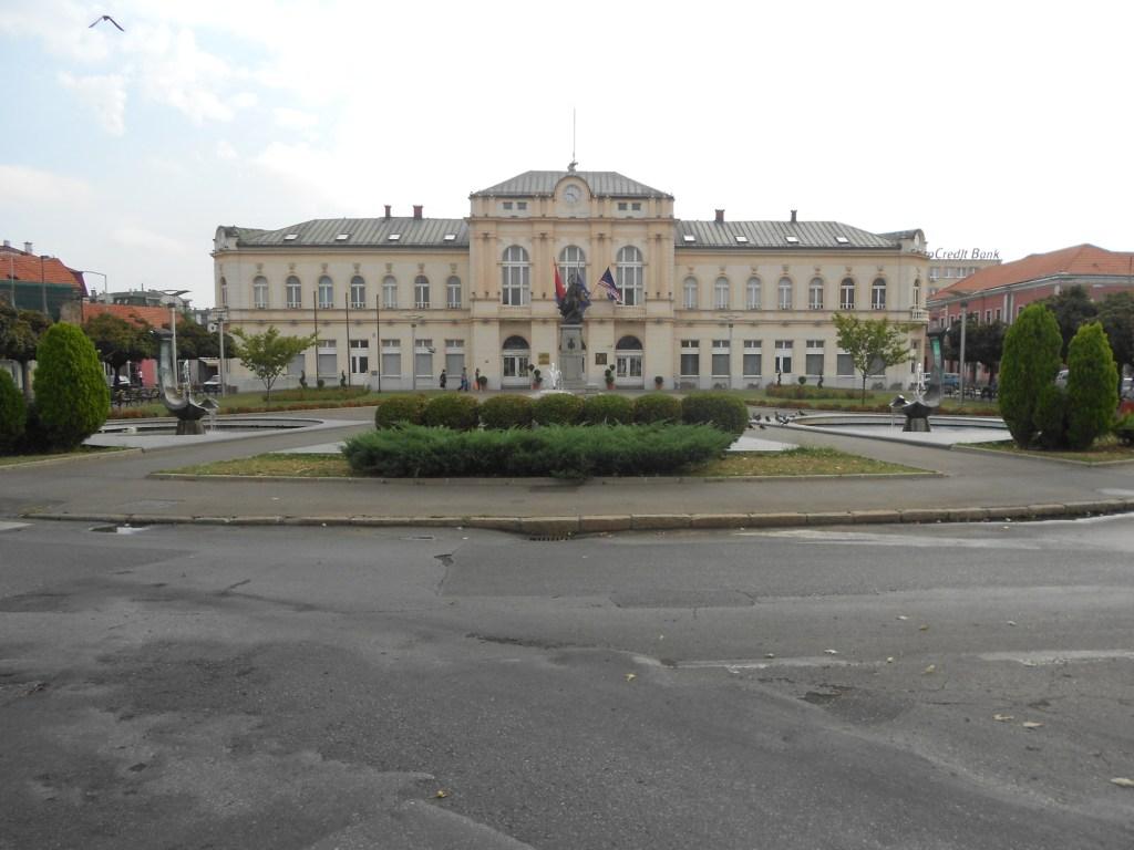 Площадь перед виечницей. Фото: Елена Арсениевич, CC BY-SA 3.0