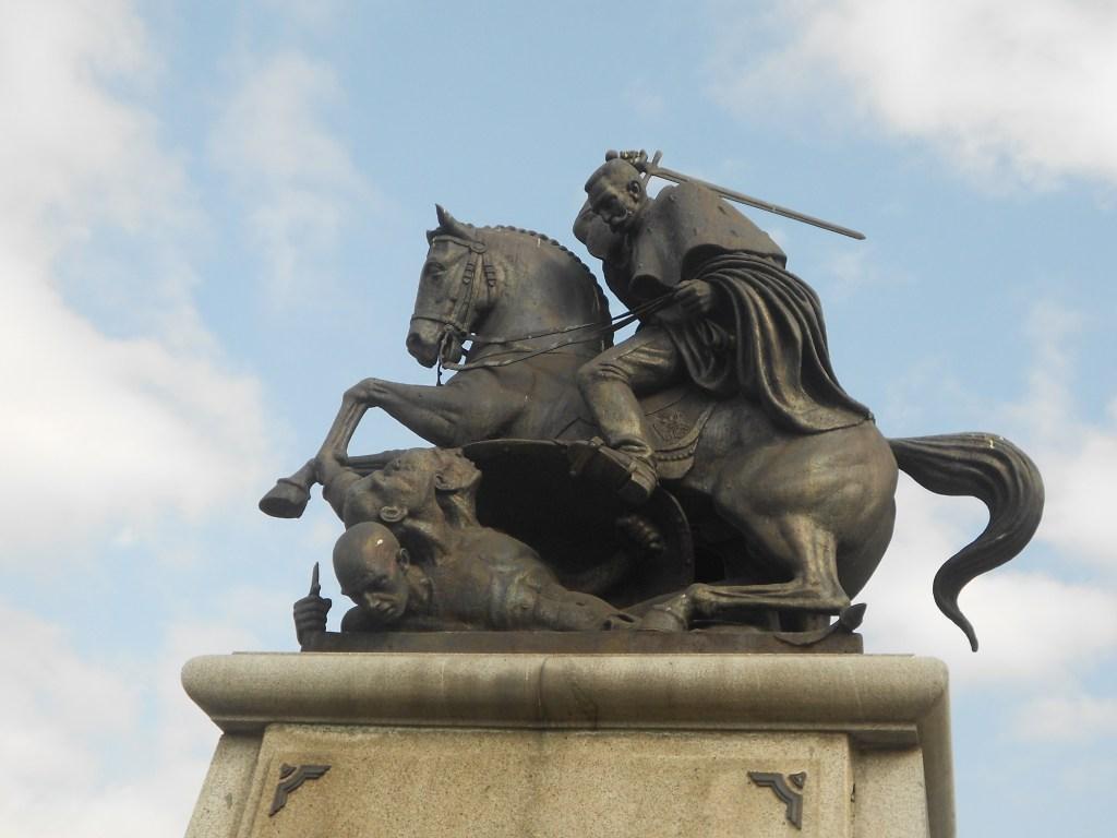Памятник Петру I Караджорджевичу. Фото: Елена Арсениевич, CC BY-SA 3.0