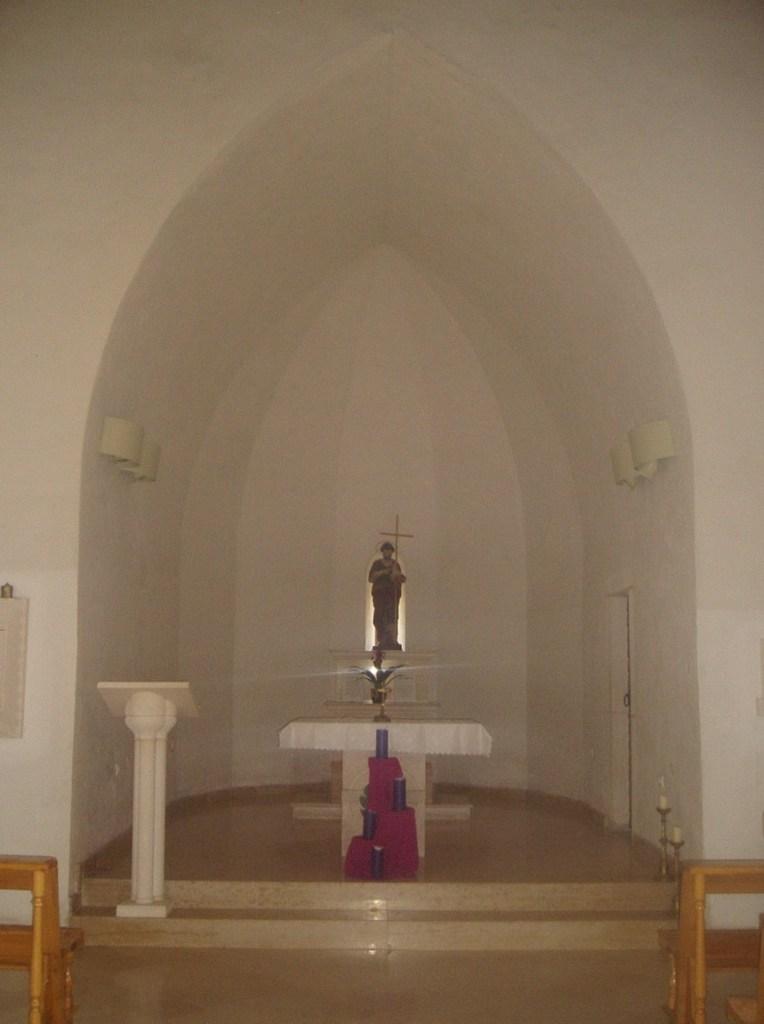 Интерьер старой церкви. Фото: Елена Арсениевич, CC BY-SA 3.0