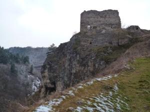 Крепость Прусац, главная крепостная башня. Фото: Елена Арсениевич, CC BY-SA 3.0