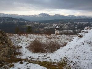 Вид на Скопальскую долину с крепости Прусац. Фото: Елена Арсениевич, CC BY-SA 3.0