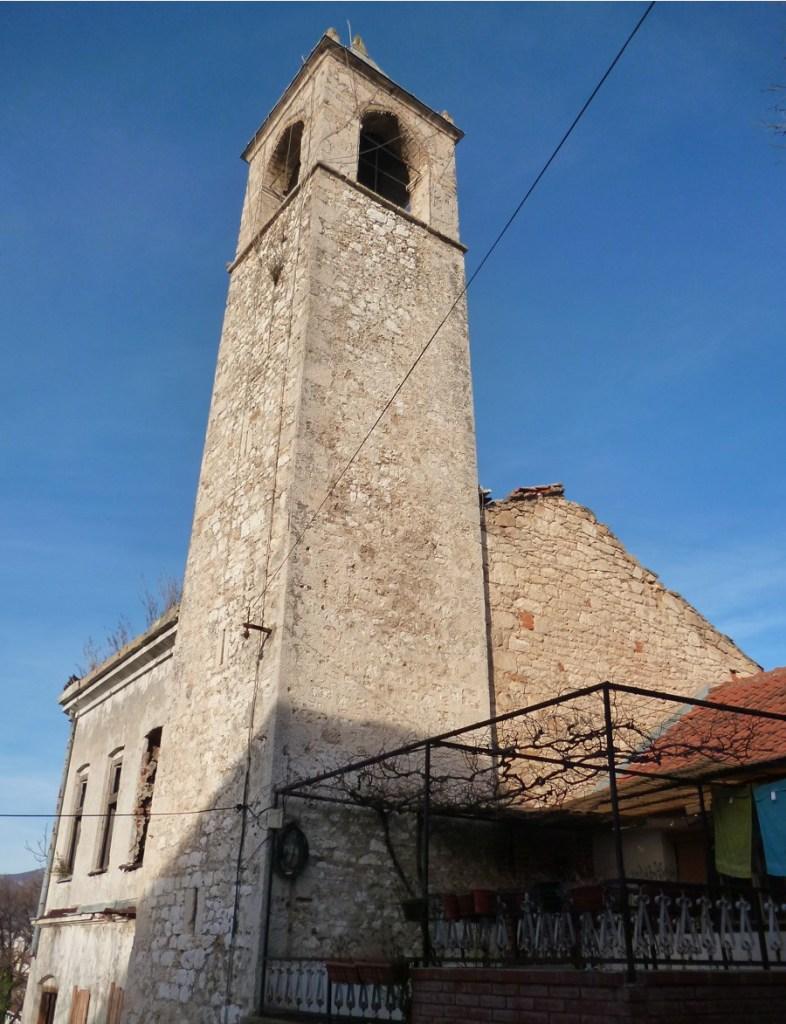 Часовая башня в Мостаре. Фото: Елена Арсениевич, CC BY-SA 3.0