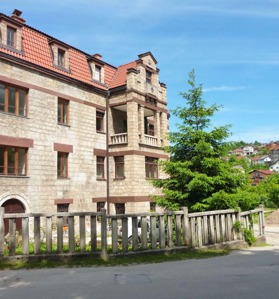 Монастырское здание. Фото: Елена Арсениевич, CC BY-SA 3.0