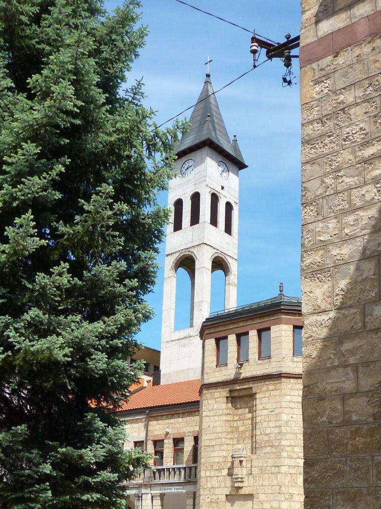 Колокольня монастыря св. Луки. Фото: Елена Арсениевич, CC BY-SA 3.0