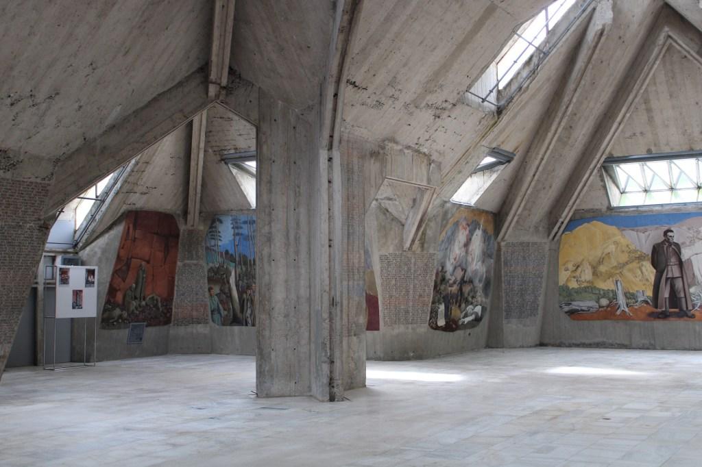 Голый бетон интерьера. Фото: Елена Арсениевич, CC BY-SA 3.0