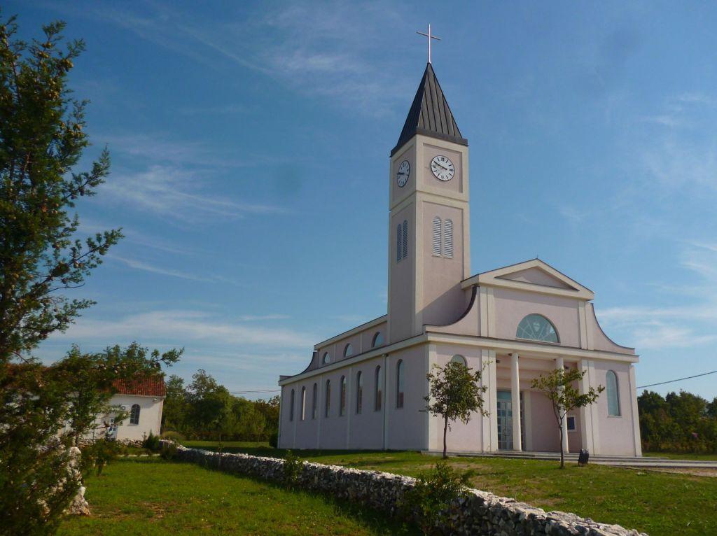Церковь Святейшего Сердца Иисуса в Горней Блатнице. Фото: Елена Арсениевич, CC BY-SA 3.0