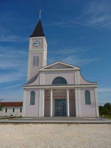 Церковь в Горней Блатнице. Фасад. Фото: Елена Арсениевич, CC BY-SA 3.0