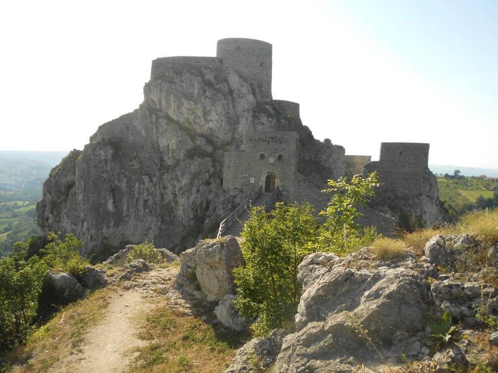 Сребреник на скале. Фото: Елена Арсениевич, CC BY-SA 3.0