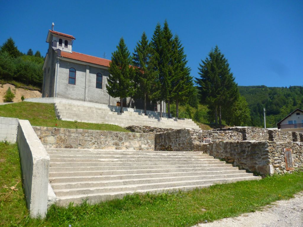 Новая церковь в Отиновцах. Фото: Елена Арсениевич, CC BY-SA 3.0