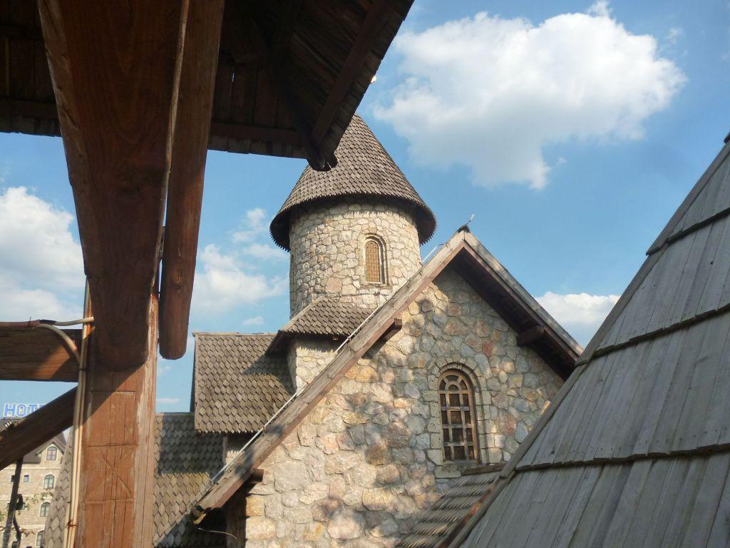 Монастырь св. Николы, реплика монастыря Куманица. Фото: Елена Арсениевич, CC BY-SA 3.0