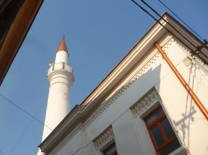 Минарет Шумечской мечети. Фото: Елена Арсениевич, CC BY-SA 3.0