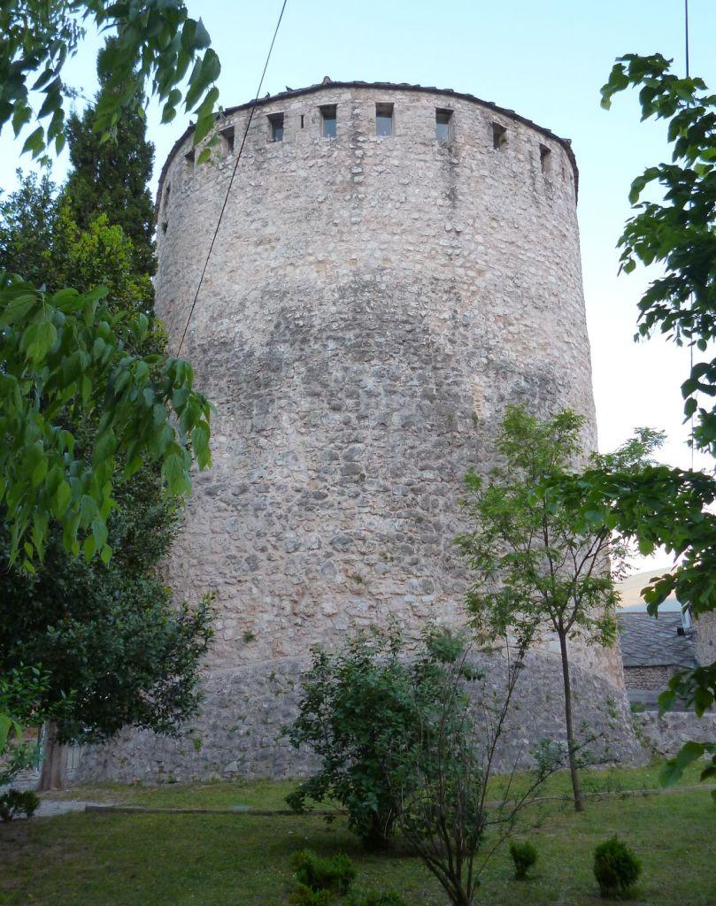 Восточная сторона башни Тары. Фото: Елена Арсениевич, CC BY-SA 3.0